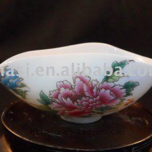 Famille-rose Porcelain peony Tea Holder RYN42