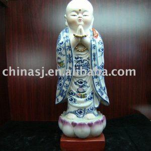 Fine ceramic figurine Buddhist monk WRYEQ17
