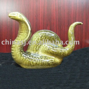 Fine ceramic snake WRYEQ22