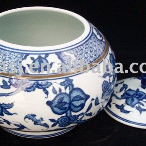 Hand Painted Ceramic Tea Gift