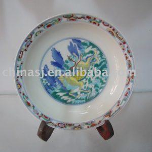 Handmade porcelain plate WRYAS62