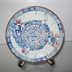 Handmade porcelain plate WRYAS64