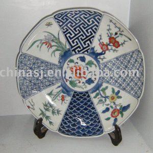 Jingdezhen porcelain gift plate WRYAS50