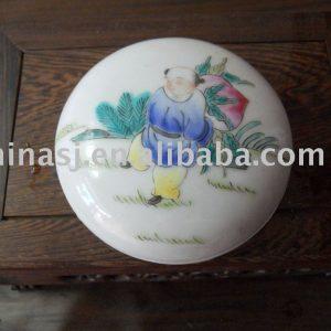 Nice Porcelain Inkpad Box WRYDN04