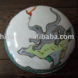 Nice Porcelain Inkpad Box WRYDN12