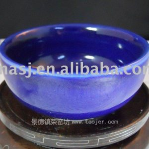 Porcelain Blue Glazed Drinking Cup RYGZ02