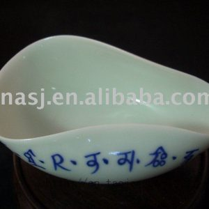 Porcelain tea leaves holder RYBU12