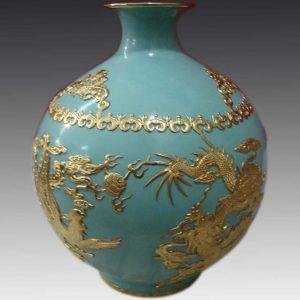 Blue Modern Decorative Ceramic Vase WRYHT112