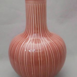 WRYMA23 ball shape red melon edge Ceramic Vase