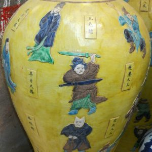 WRYPJ02 large antique ceramic storage jar