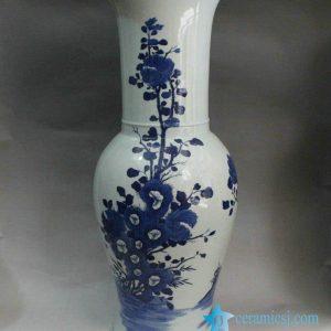 RYXN04 Blue & White Flower Vases