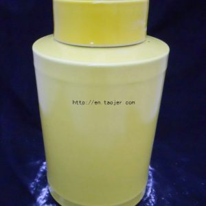 WRYKB20 36cm Yellow ceramic cookie jars