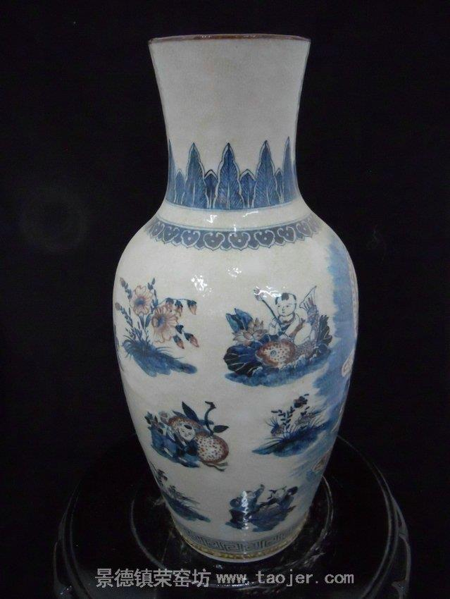 China Antique Guanyin Porcelain Vase WRYJV02