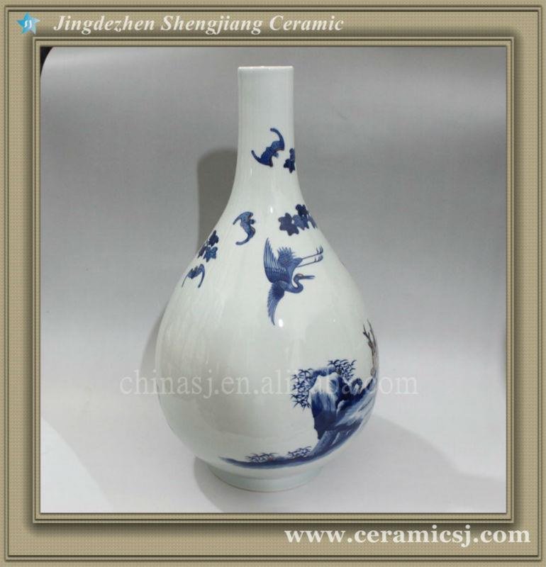 RYWU22 jingdezhen antique hand painted porcelain vase
