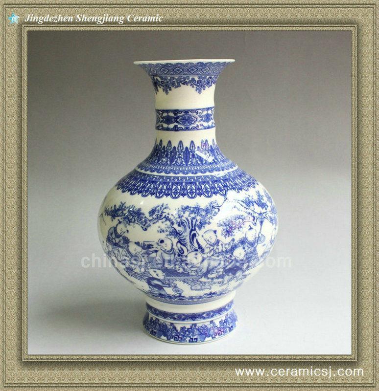 RYXH04 chinese ceramic hand painted vase
