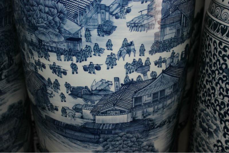 RYXK01 Chinese Ceramic Floor Vase