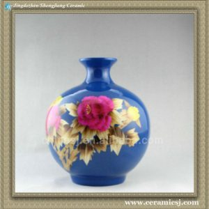 RYXF19 wheat straw ceramic vase