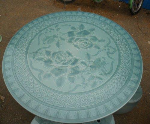 Chinese celadon Garden tea table set WRYAZ324