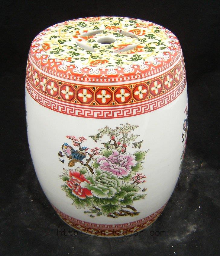 WRYAZ204 Chinese Ceramic Garden Stool