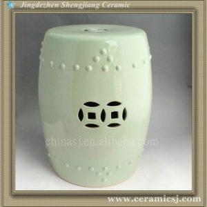 WRYAZ209 light blue Ceramic Garden Stool