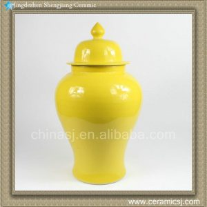 RZAQ01 18inch Yellow Temple Jar