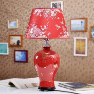 TYLP27 chinese red bedroom lamp