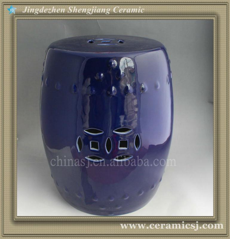 blue Garden Stool 46 *10cm WRYKB19