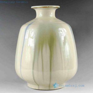 RZCJ01 10.5 inch High temperature transmutation porcelain Vase