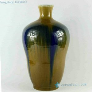 RZCJ15 14 inch High temperature Transmutation Porcelain Vase