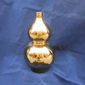 WRYAZ237 Bright Gold Vase