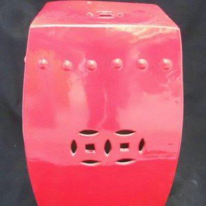 WRYKB05 Red patio furniture stool