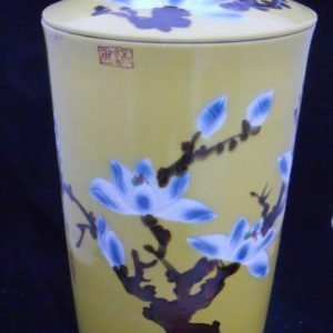 WRYKB22 h60*d31cm Porcelain jar with lid