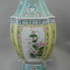 Asia Antique Hand Made Flower Design Reproduction Pot WRYRB02