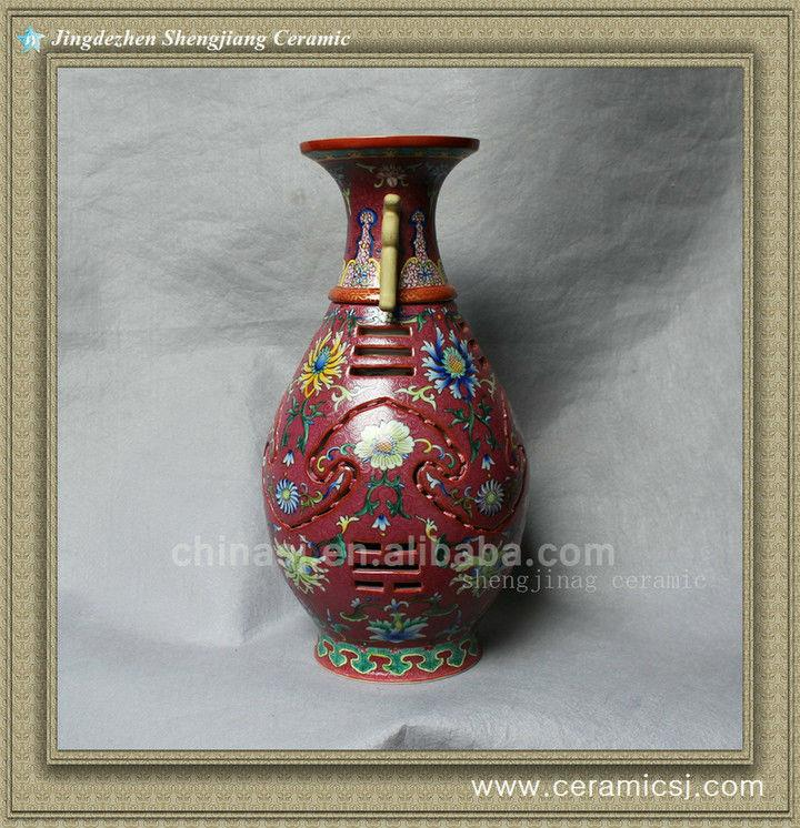 RYLW10 High quality Qing dynasty reproduction Chinese Porcelain vase