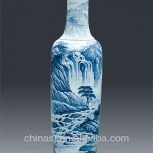 Chinese Large Decorative Ceramic Floor Vases
