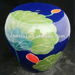 chinese ceramic outdoor garden stool WRYAZ228