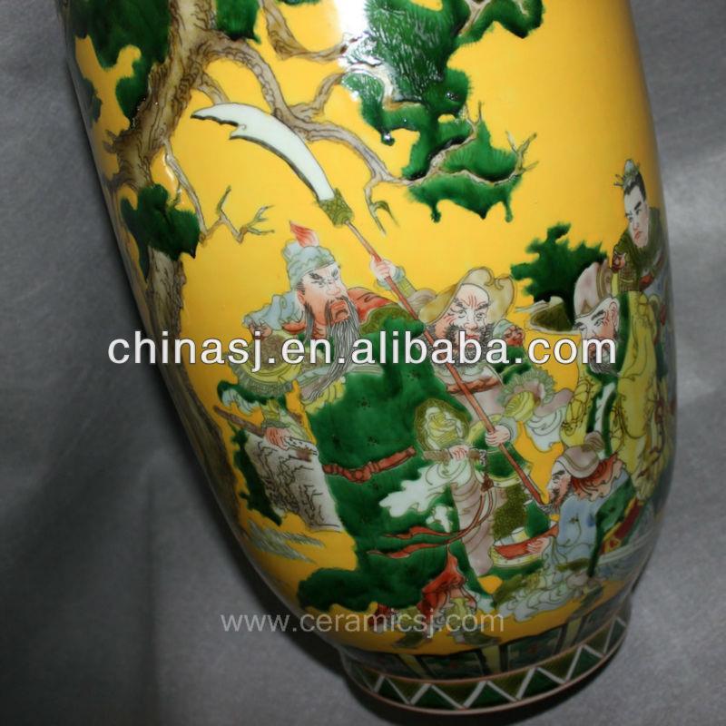 Hand Painted Chinese Decorative Porcelain Vase RYVA01