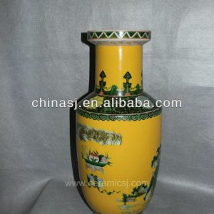 Hand Painted Chinese Decorative Porcelain Vase RYVA01