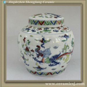 RYWR03 oriental Ming dynasty reproduction Porcelain Jars wholesale