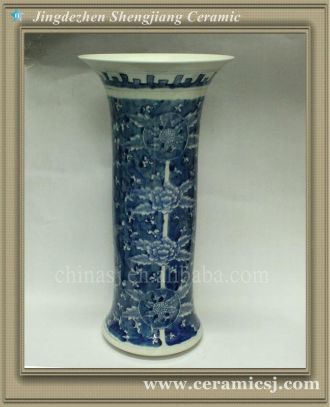 RYWD12 Blue white porcelain vases