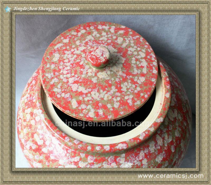 RYWO11 colored ceramic jar wholesale