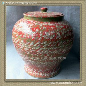RYWO11 colored ceramic jar wholesale