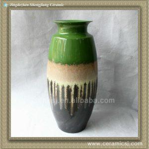RYWO15 green porcelain Vase