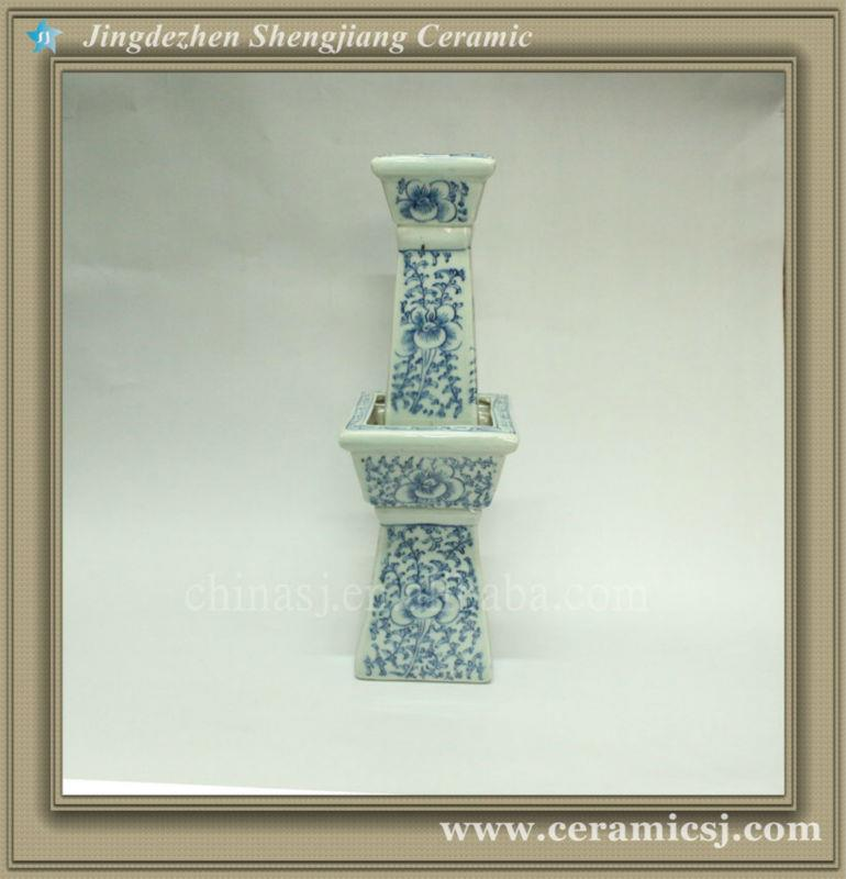 RYWD01 Ming Dynasty antique blue and white vase