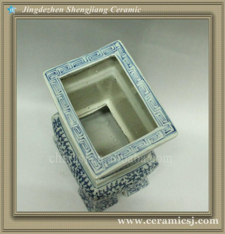 RYWD03 Ming Dynasty antique blue and white vase