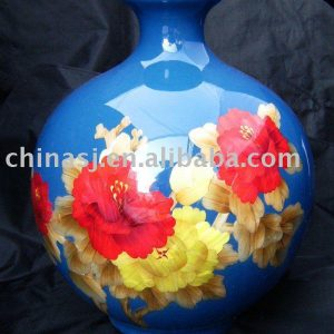 WRYCW16 Ceramic Vase blue