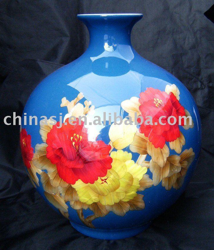 WRYCW16 Ceramic Vase blue