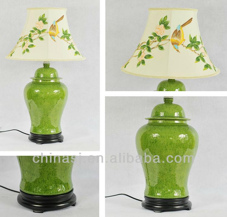 TYLP51 Bright Plain Color Ceramic Lamps
