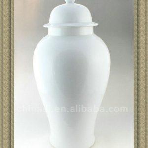 RYNQ42 25inch Porcelain Ginger White Jar