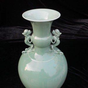 WRYKX09 Asia celadon porcelain vase